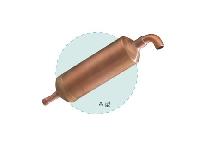 压缩机用铜贮液器系.